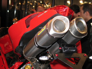 Ducati Streetfighter  Termignoni Exhaust Hp Gain